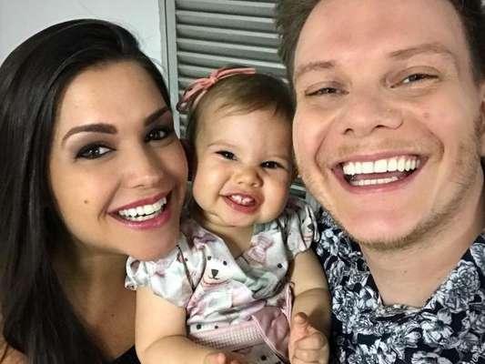 Melinda, filha de Thais Fersoza e Michel Teló, atualmente está com 1 ano e 3 meses