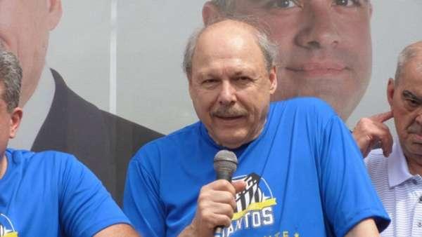 José Carlos Peres, candidato à presidência do Santos