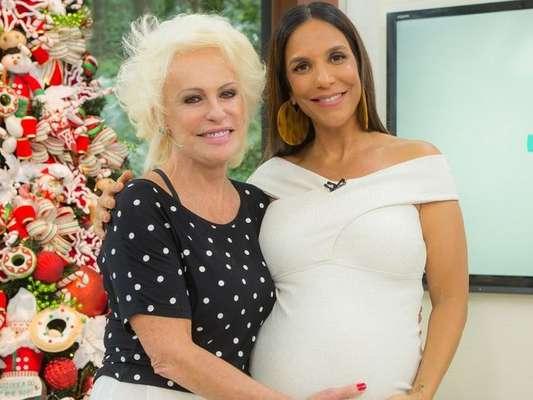 Ivete Sangalo questionou Ana Maria Braga sobre casamento, mas a apresentadora desconversou durante o 'Mais Você' desta quinta-feira, 7 de dezembro de 2017: 'Não interessa!'