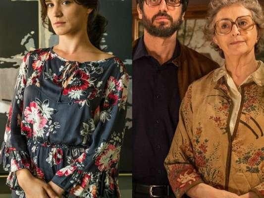 Clara (Bianca Bin) arma e desmascara Samuel (Eriberto Leão) para Adnéia (Ana Lucia Torre), na novela 'O Outro Lado do Paraíso'