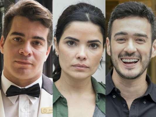 Na novela 'Malhação', Antônia (Vanessa Giácomo) terminará o namoro com Domênico (Marcos Veras) e assumirá paixão por Júlio (Thiago Martins) no capítulo que vai ao ar na terça-feira, 19 de dezembro de 2017