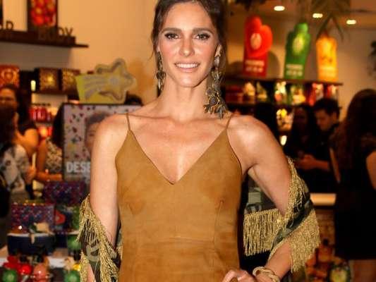 Fernanda Lima lista cuidados com a pele no verão em evento nesta quinta-feira, dia 07 de dezembro de 2017