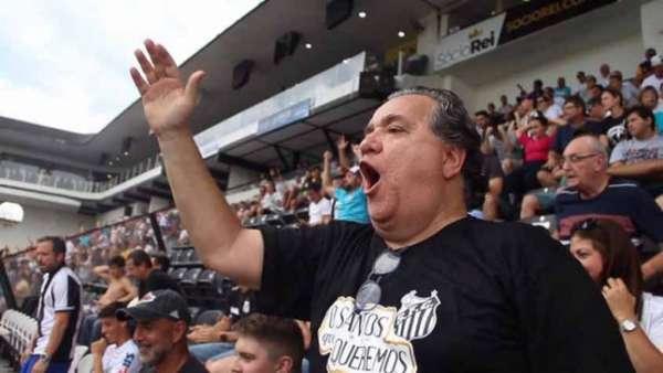 Nabil Khaznadar, candidato à presidência do Santos