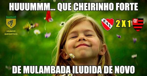Rivais provocam Flamengo com memes após derrota na primeira partida da final da Copa Sul-Americana