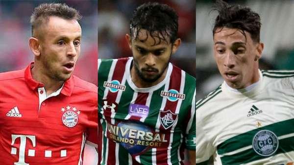 Rafinha, Gustavo Scarpa e Rildo foram alguns dos atletas que movimentaram o mercado nesta quinta-feira. Confira como foi o dia!