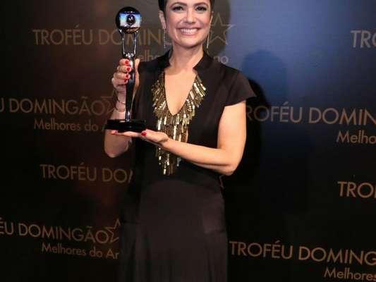 Vencedora do prêmio de melhor jornalista de 2017 no Melhores do Ano, Sandra Annenberg não deseja seguir passos de Fátima Bernardes e Patrícia Poeta