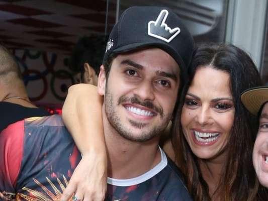 Viviane Araujo comentou uma foto do namorado, Kainan Ferraz, no Instagram na última terça-feira, 19 de dezembro de 2017