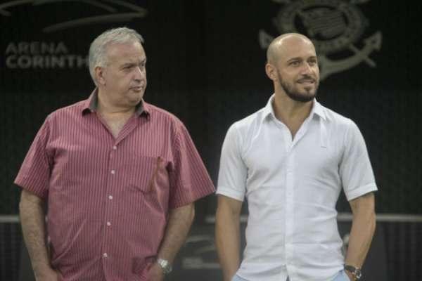 Presidente Roberto de Andrade e gerente Alessandro Nunes ainda têm pendências para 2017
