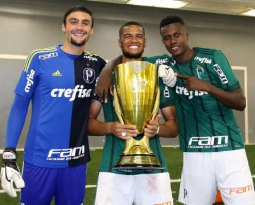 Daniel Fuzato, Augusto e Pedrão, atletas do sub-20