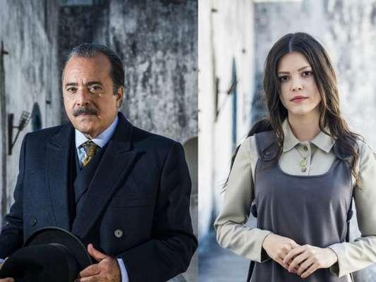 Assim que chegar ao Brasil, José Augusto (Tony Ramos) saberá que Inácio (Bruno Cabrerizo) se casou com uma brasileira e dirá a verdade para Maria Vitória (Vitória Strada), na novela 'Tempo de Amar'