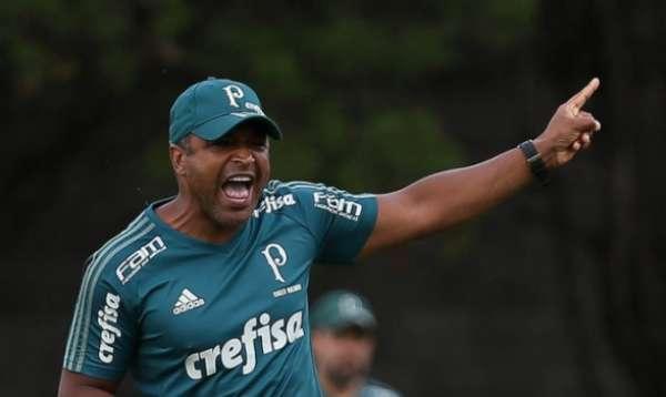Os primeiros dias de Roger no Palmeiras