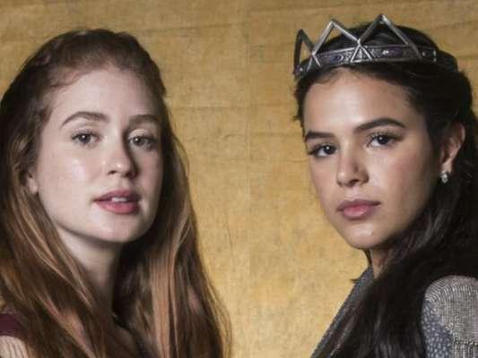 'Deus Salve o Rei' tem estreia marcada por Amália empoderada e memes de Catarina nesta terça-feira, dia 09 de janeiro de 2018