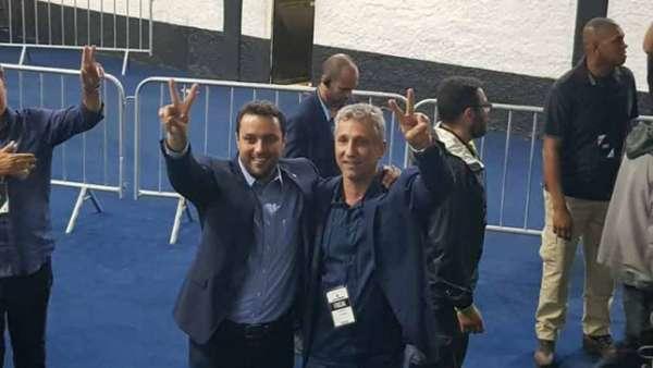Julio Brant venceu a primeira parte da eleição do Vasco não considerando a urna 7. Veja a galeria LANCE!
