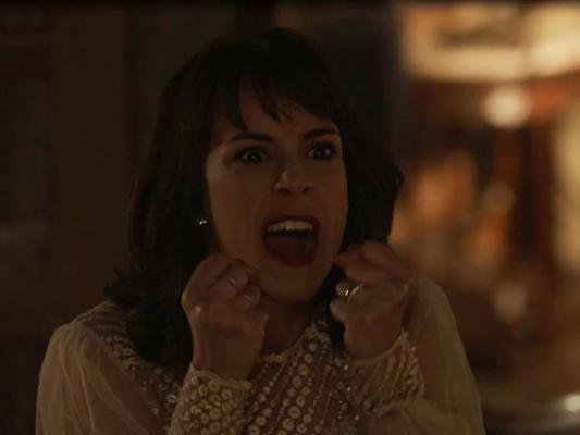 Na novela 'Tempo de Amar', Lucinda (Andreia Horta) descobrirá que terá um Eunice (Lucy Alves) está grávida e não aceitará ter um irmão no capítulo que vai ao ar na quinta-feira, 01 de fevereiro de 2017