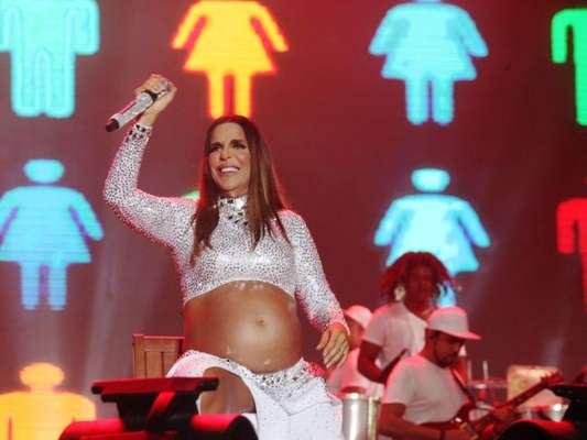 A cantora não está conseguindo praticar musculação: 'Nessa reta final já não consigo mais treinar na intensidade que costumo treinar'