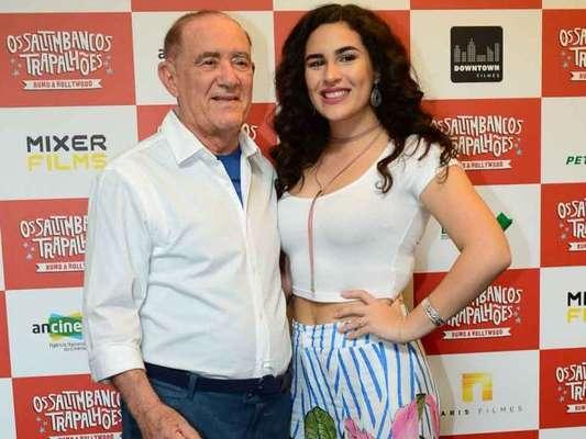 Lívian Aragão usou o seu Instagram para parabenizar o pai, Renato Aragão, por seus 83 anos de vida