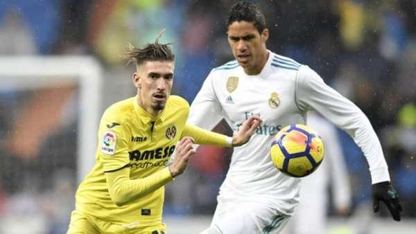 Real Madrid x Villareal