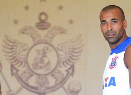 Emerson Sheik voltou ao Corinthians