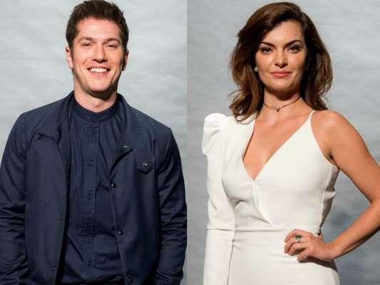 Caio Paduan e Mayana Neiva, vistos juntos em jantar no Rio de Janeiro, não estão namorando