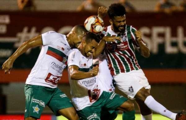 Fluminense x Portuguesa - Renato Chaves