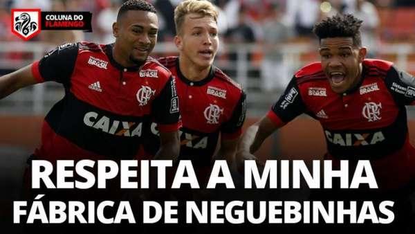 Rubro-negros comemoram o tetra da Copa São Paulo