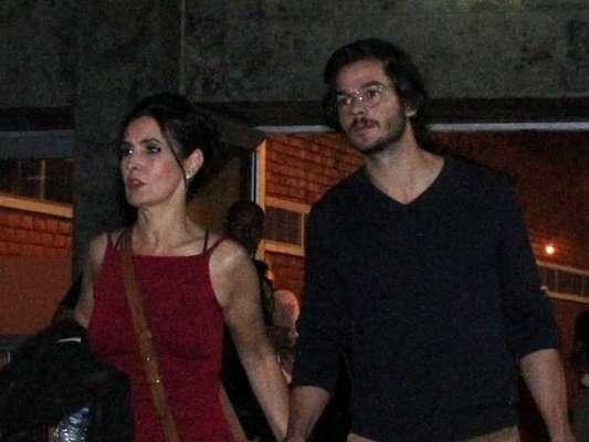 Fátima Bernardes falou do seu namoro com Túlio Gadêlha, no 'Encontro', desta quarta-feira, 31 de janeiro de 2018: 'Olhar vai mudando'