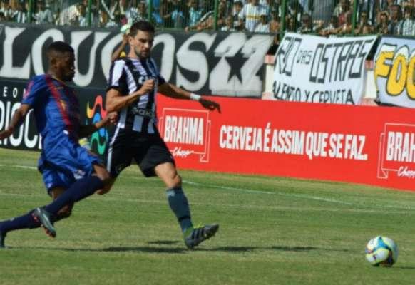 Em 2017, o Botafogo perdeu de 2 a 0 para o Madureira