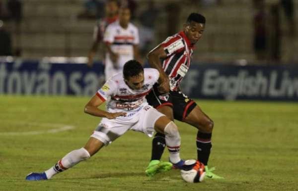 Último confronto: Botafogo 1x1 São Paulo - Campeonato Paulista (22/03/2017), Estádio Santa Cruz