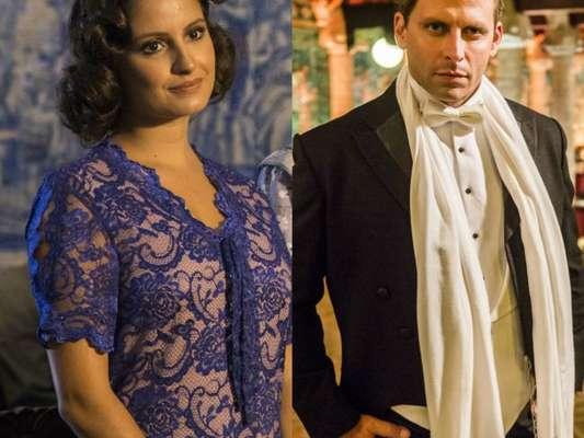 Na novela 'Tempo de Amar', Teodoro (Henri Castelli) ordenará Felícia (Amanda de Godoi) fingir que é sua governanta em capítulo que vai ao ar sábado 3 de março de 2018