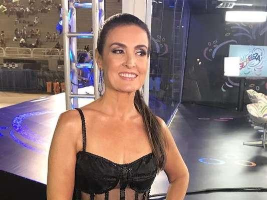 Fátima Bernardes foi pega de surpresa com repercussão do seu look de carnaval: 'Barulho foi maior do que podia imaginar'