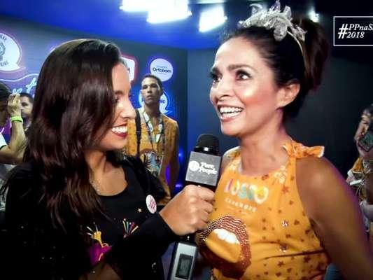 Claudia Ohana dá dicas para as mulheres serem empoderadas no Carnaval. Confira!