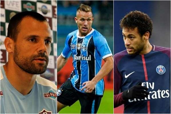 Cavalieri, Arthur e Neymar movimentaram o mercado da bola desta quarta