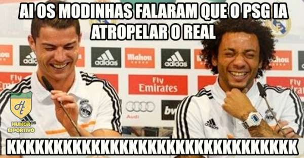 Champions: os memes de Real Madrid 3 x 1 PSG