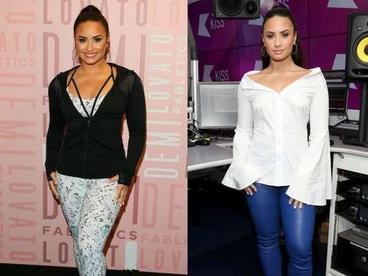 Demi Lovato ganhou peso após deixar dieta: 'Eu estou mais feliz porque não estou me restringindo a certos alimentos'