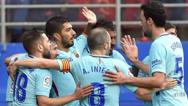 Eibar joga bem, mas Barcelona vence antes de encarar Chelsea