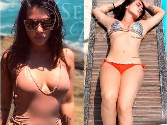 Mayra Cardi mostrou o antes e depois de Cleo em seu Instagram nesta segunda-feira, 26 de fevereiro de 2018