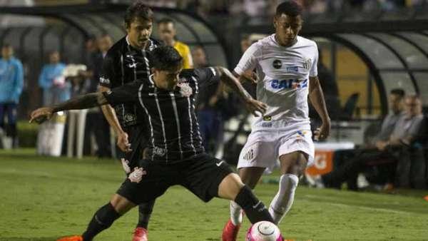 Santos e Corinthians se enfrentaram neste domingo no Pacaembu