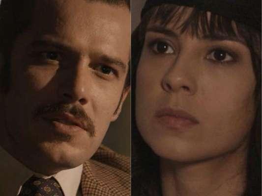 Lucinda (Andreia Horta) e Fernão (Jayme Matarazzo) fogem em navio cargueiro para a Holanda e passam a roubar comida e água no fim da novela 'Tempo de Amar'