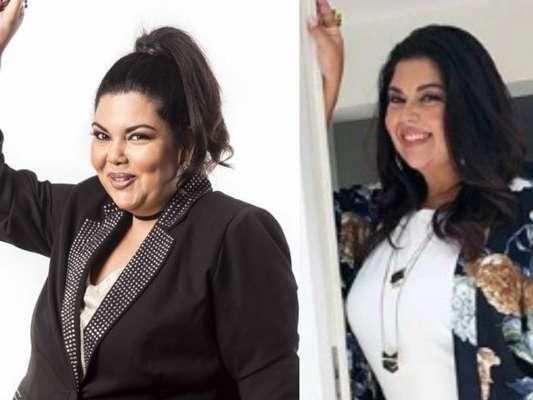 Fabiana Karla emagrece 20 kg com dieta em sachê, como endocrinologista conta ao Purepeople nesta segunda-feira, dia 12 de março de 2018
