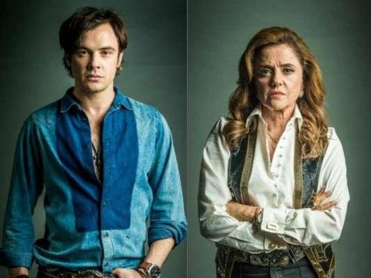 """Em """"O Outro Lado do Paraíso"""": Gael (Sergio Guizé) resolve investigar o passado de Sophia (Marieta Severo)"""