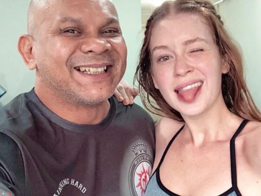 Em São Paulo, Marina Ruy Barbosa se dedicou aos exercícios nesta terça-feira, 13 de março de 2018