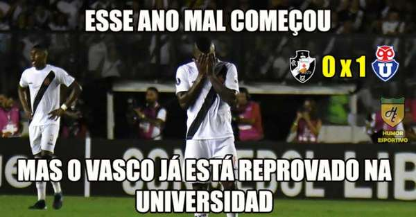 Memes: Vasco 0 x 1 Universidad de Chile