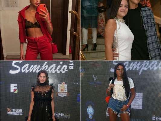 Bruna Marquezine, Mel Maia e mais famosos curtem festa de aniversário de Carol Sampaio no Rio de Janeiro