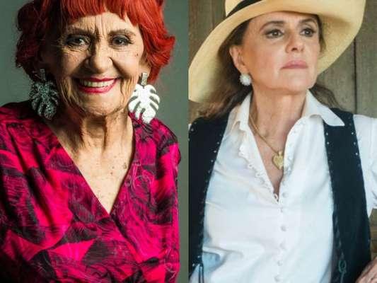 """Em """"O Outro Lado do Paraíso"""": Sophia (Marieta Severo) é presa após Clara (Bianca Bin), Bruno (Caio Paduan) e Gael (Sergio Guizé) armarem emboscada"""