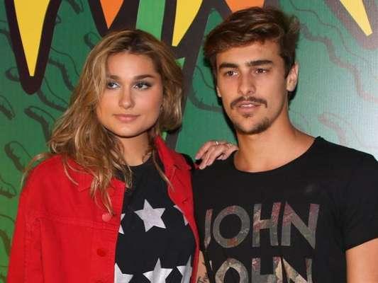 Sasha Meneghel comentou foto do namorado, Bruno Montaleone, nesta terça-feira, 27 de março de 2018
