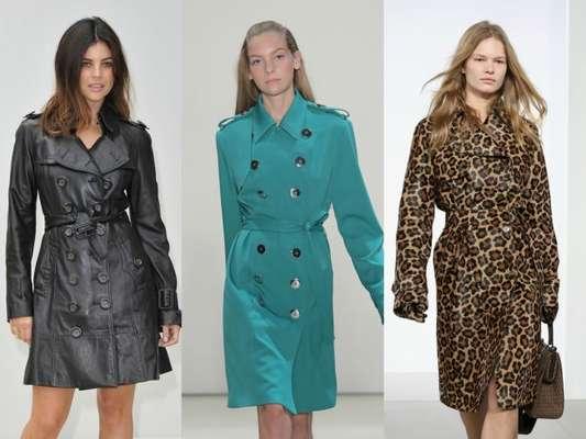 Trench coat como vestido é tendência no outono/inverno 2018. Inspire-se para usar a tendência!