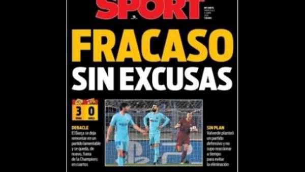 Resumo: Roma surpreende Barcelona rumo às meias-finais