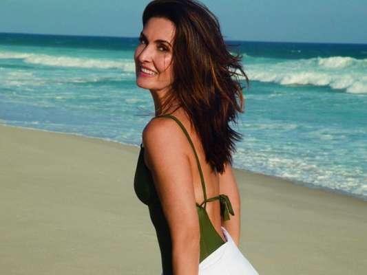 Capa da revista 'Boa Forma', Fátima Bernardes é fonte de inspiração para mulheres de todas as idades