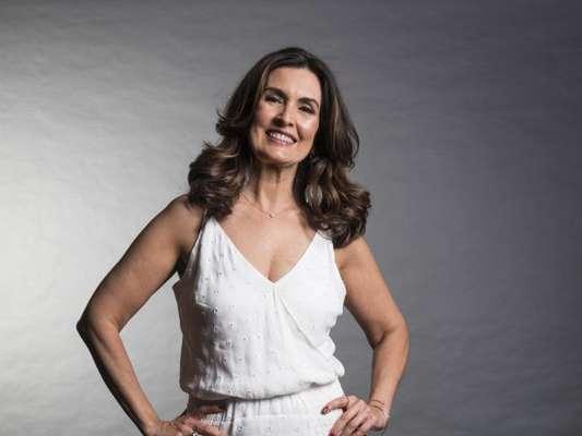 Fátima Bernardes ganhou homenagem do namorado no Dia do Beijo nesta sexta-feira, 13 de abril de 2018