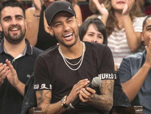Neymar participou do programa 'Altas Horas' deste sábado, 14 de abril de 2018